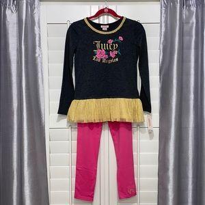 NWT Juicy Couture Tutu and Legging set